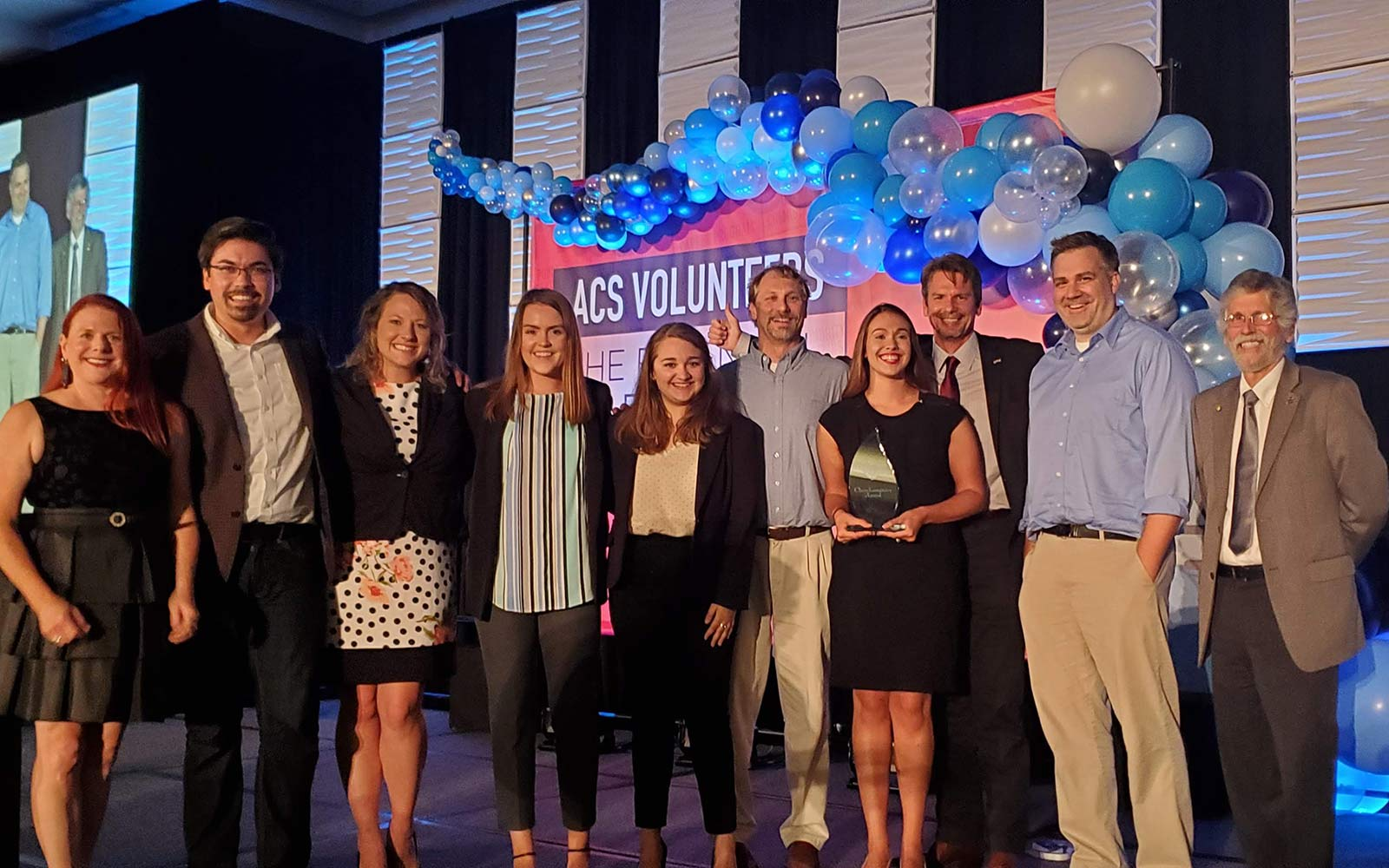Msu Student Info >> Msu Student Chemistry Group Receives National Award For