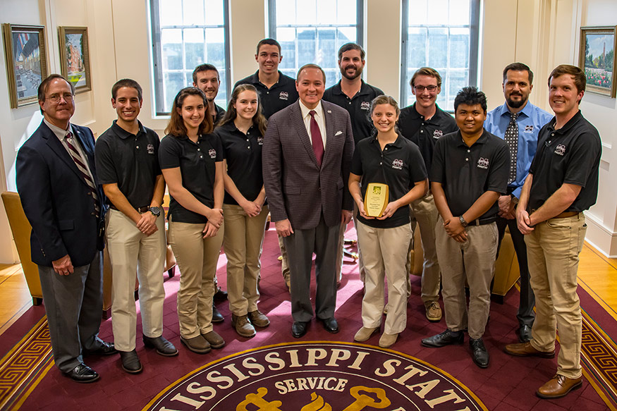 Msu Student Info >> Msu Forestry Students Lead As Outstanding Chapter 20 Years