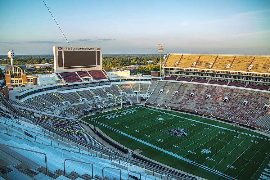 Ms State Football Stadium