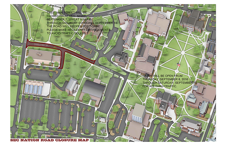 Fans urged to plan for road closures, gameday adjustments
