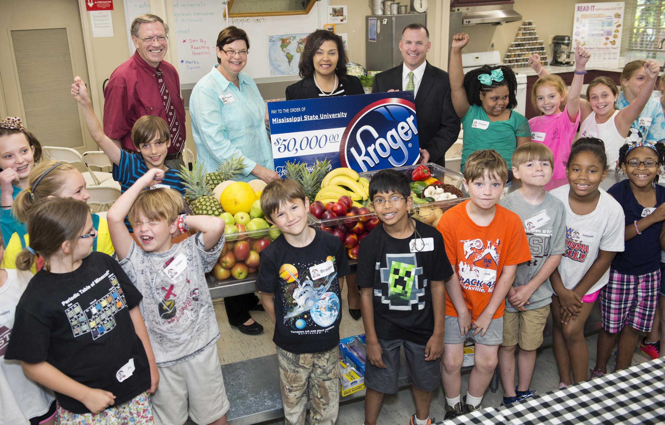Kroger Starkville Ms >> Kroger Co. sponsors MSU food camp with $50,000 gift ...