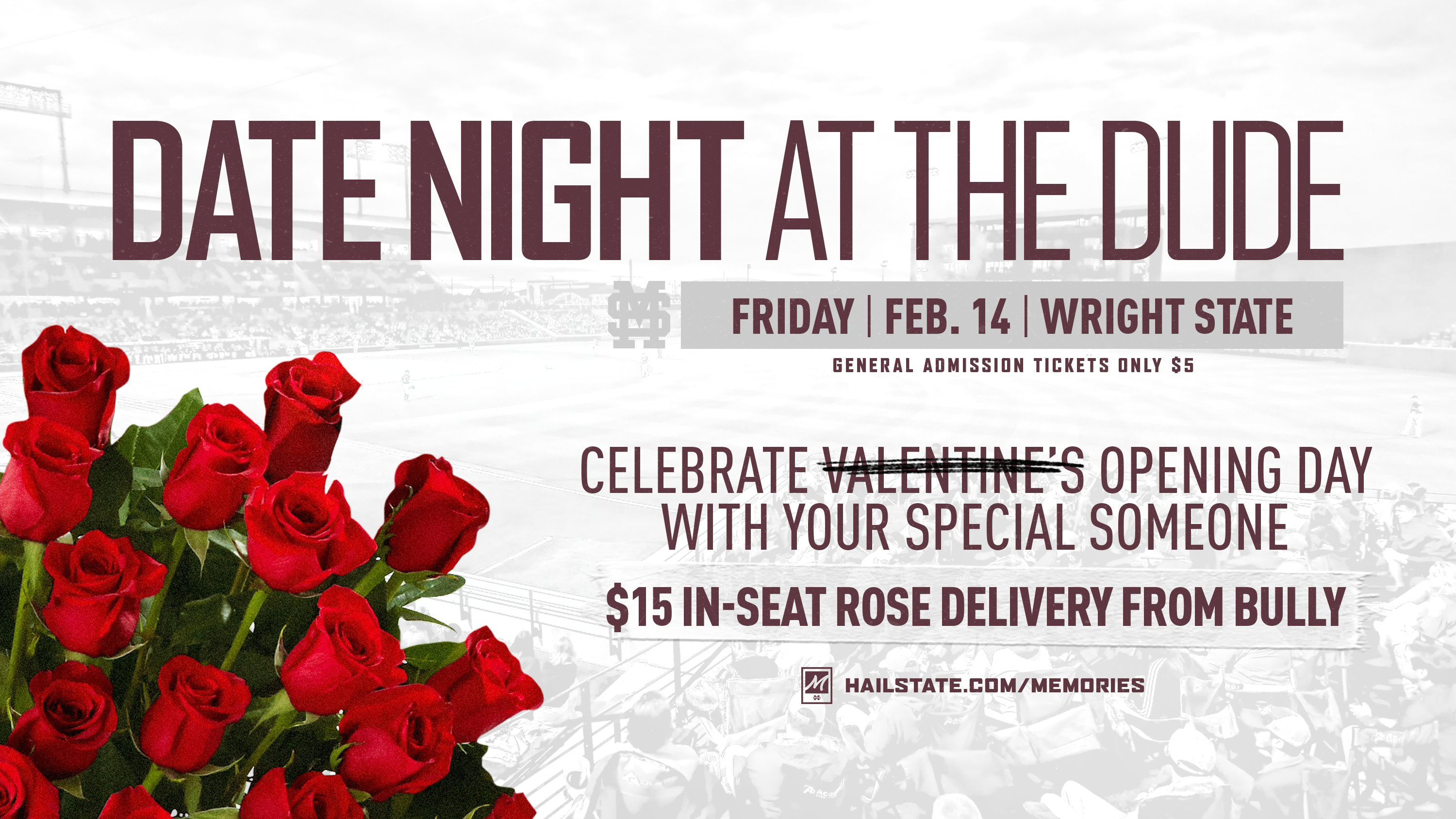 "Promotional graphic for ""Date Night at the Dude"""