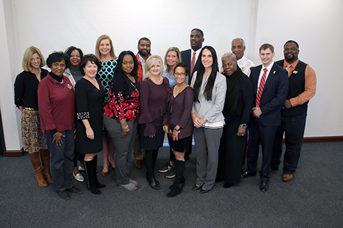 Group photo of the Meridian Leadership Council