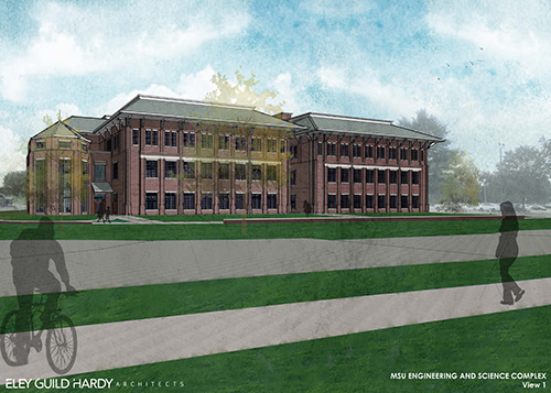 The $34 million Richard A. Rula Engineering and Science Complex will house the Department of Civil and Environmental Engineering and provide classrooms and offices; teaching, research and chemistry labs; and high bay areas. (Submitted photo)