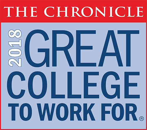 2018 Great College to Work For logo